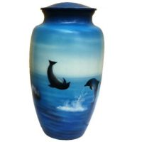Dolphins Urn