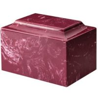 Berry Red Burial Urns
