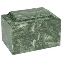 Emerald Green Marble Cremation Urn