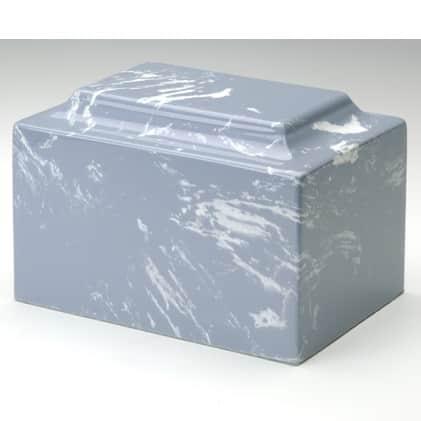 Wedgwood Blue Marble Cremation Urn