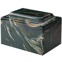 Marble Camouflage Urn