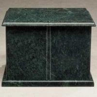 Evermore Marble Green Urns for Ashes