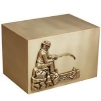 Fishing Bronze Urns