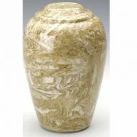 Neptune Grecian Marble Cremation Urn