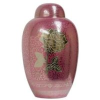 Rose Pink Urn for Ashes