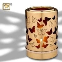 Illuminating Butterflies Candle Urn