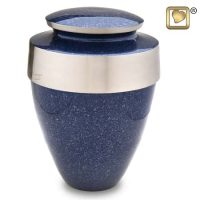Eternity Speckled Indigo Urn