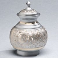 Far East Silver Small Urn