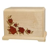 Inlay Roses Extra Large Urn