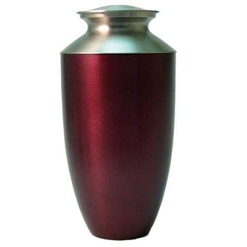 Monterey Red Urn