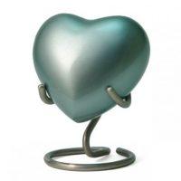 Ocean Heart Keepsake Urn