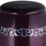 purple urns