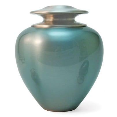 Blue Pearl Urn