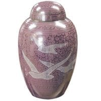 Pink Going Home Urn