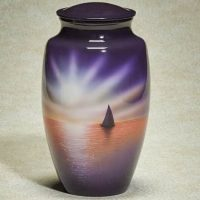 Sunset Sail Urn