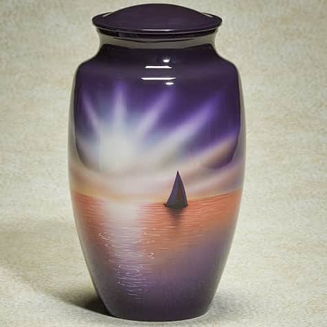 Sunset Sail Urn