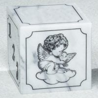 Angel Infant Marble Urn