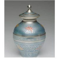 Blue Butterflies Small Urn