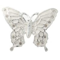 White Butterfly Keepsake Urn