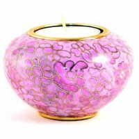 Pink Etienne Tealight Candle Urn