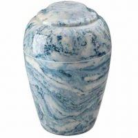 Sky Blue Grecian  Urn