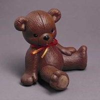 Ceramic Teddy Bear Urn