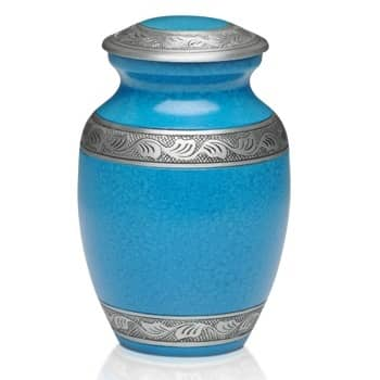 Turquoise Small Urn