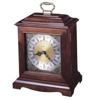 Continuum Mantle Clock Urn Cherry