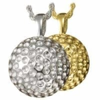 Golf Ball Urn Necklace
