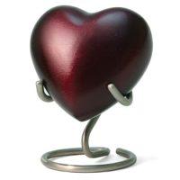 Monterey Ruby Heart Urn