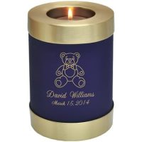Teddy Bear Candle Urn