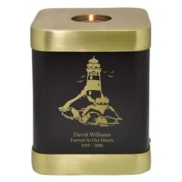 Lighthouse Candle Urn Adult Size