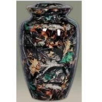 Woodsman Camouflage Cremation Urn