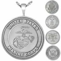 Military Ashes Jewelry Pendants Sterling Silver