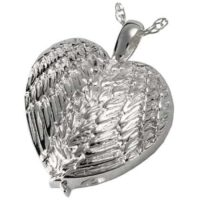 Silver Wings Ashes Jewelry