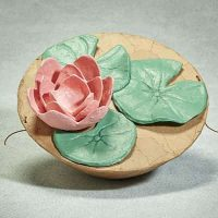 Biodegradable Lotus Urn