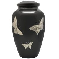 Eternal Flight Butterflies Urn