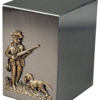Stainless Steel Hunter Urn