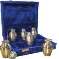 Keepsake Set of 6 Brass Alvita