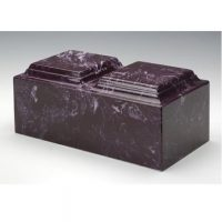 Merlot Marble Urn for Two