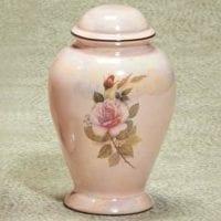Darlene Pink Ceramic Urn