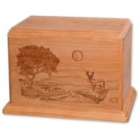 Heartland Deer Urn for Two