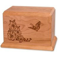 Butterfly Newport Urn for Two
