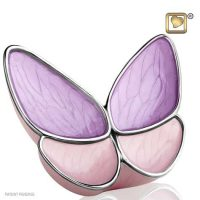Lavender Wings Butterfly Urn