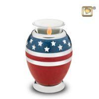 American Glory Candle Urn