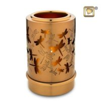 Illuminating Dragonflies Candle Urn