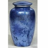 Prismatic Blue Urn