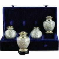 Opal Etienne Set of 4 Keepsake Urns