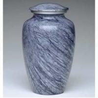 Allendale Blue Gray Urn