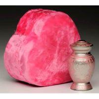 Pink Heart Case Rose Keepsake Urn